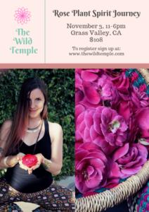 brooke sullivan the wild temple rose retreat yoga weekend workshop nevada city sacramento grass valley california